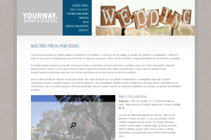 Yourway bodas y eventos